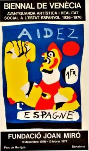 Los carteles de Miró - Hotel Ángela Fuengirola