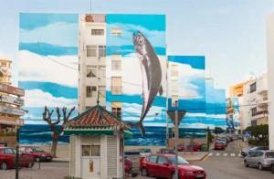 Arte urbano en Estepona - Hotel Angela Fuengirola